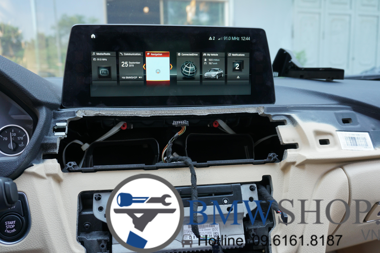 Màn hình NBT EVO (Next Big Thing Evolution) dành cho xe BMW