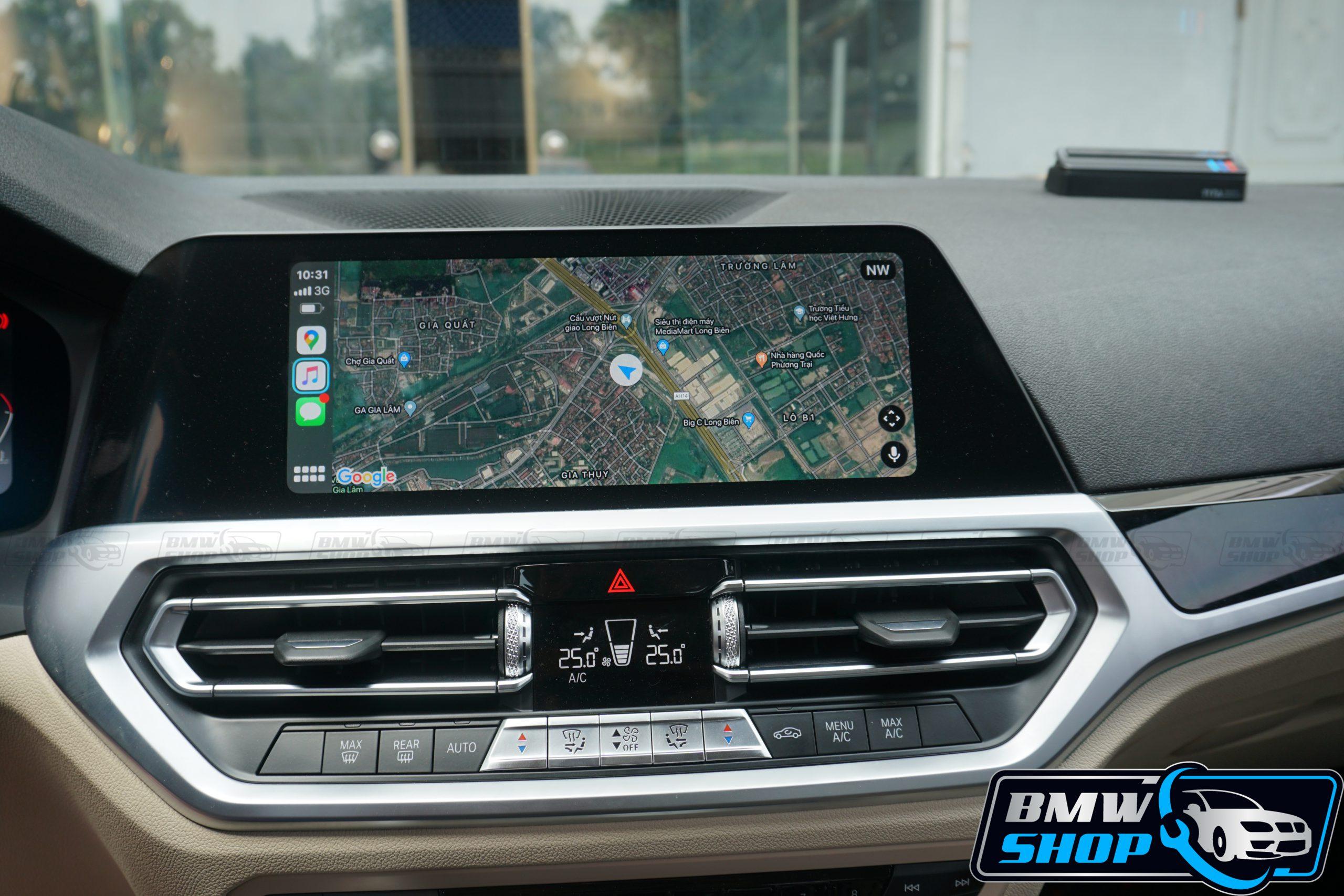 Nâng cấp Carplay cho xe BMW G02 G05