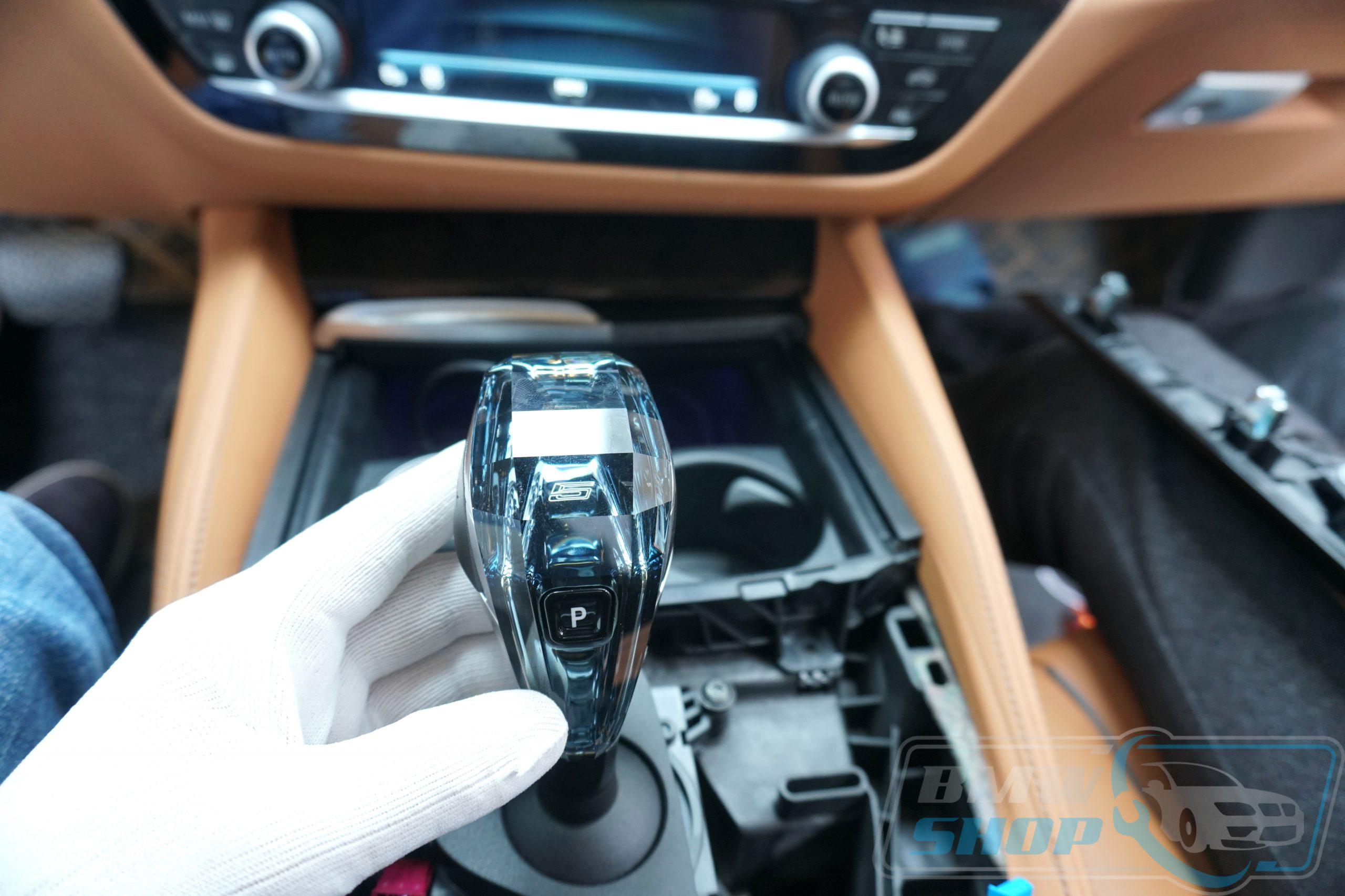 Hình ảnh cần số pha lê BMW G30